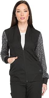 Dynamix DK340 Women's Zip Front Warm-Up Jacket