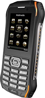 Plum Ram 7-3G Rugged Unlocked Cell Phone GSM - IP68 Certified Military Grade Water Shock Proof ATT Tmobile Cricket Metro Mint Net10 Straight Talk Walmart Mobile Consumer Cellular