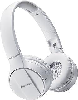 Pioneer SE-MJ553BT Supraaural Diadema Color blanco - Audífonos (Supraaural, Diadema, 10 - 22000 Hz, Dinámico, Bluetooth, A...