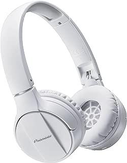 Pioneer SE-MJ553BT Supraaural Diadema Color blanco - Audífonos (Supraaural, Diadema, 10 - 22000 Hz, Dinámico, Bluetooth, A2DP, AVRCP)
