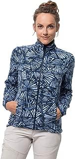 Jack Wolfskin Women's Kiruna Forest Fleece Jacket With Short-system-zip