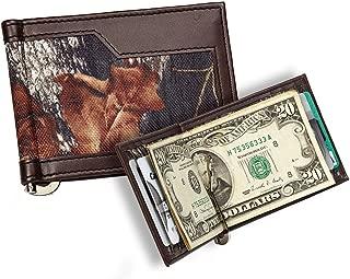 Men's Mossy Oak Breakup Casual Series Bi-Fold Wallet with Camo Pattern