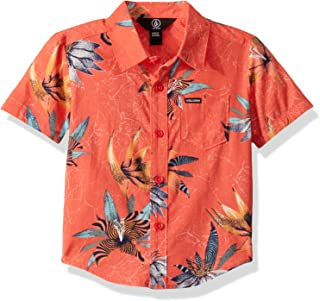 Volcom Little Boy's Verano Button Up Short Sleeve Shirt