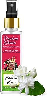 Parag Fragrances Madurai Flower (Fresh Mogra) Essential Oil Mist Spray 100ml (Precious Essence Mist Spray By Parag Fragran...