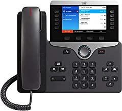 Cisco IP Phone 8851 with Multi-Platform Phone Firmware, 5-inch VGA Backlit Color Display, Gigabit Ethernet Switch, Class 2... photo