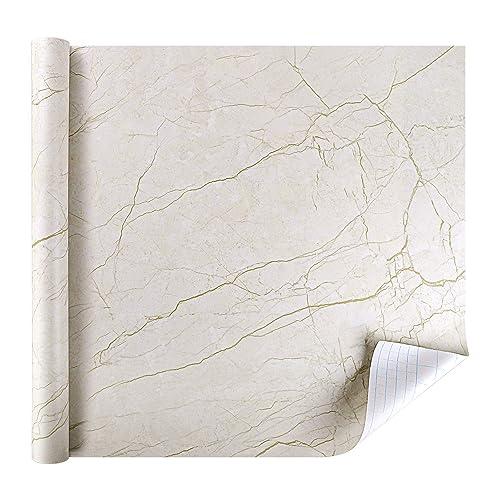 RabbitgooR Marble Contact Paper Self Adhesive Vinyl Film Table Door Sticker Wallpaper For Furniture Decorative