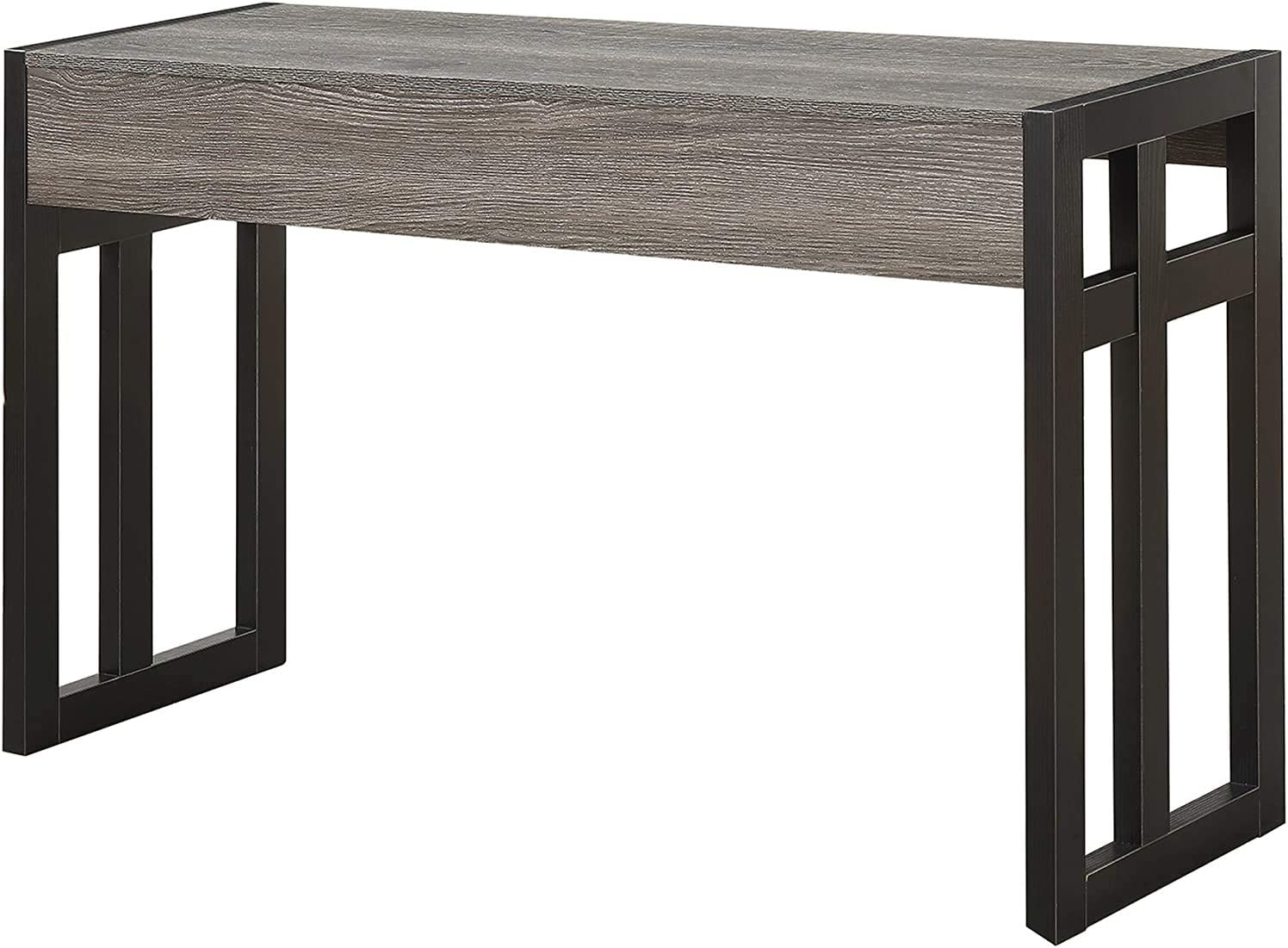 Convenience Columbus Mall Concepts Monterey Year-end annual account Console Weathered Gray Bl Table