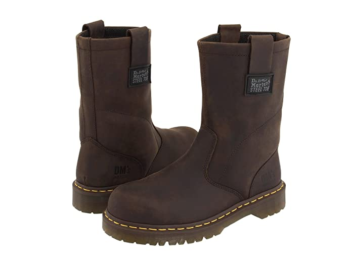Dr. Martens Work  2295 Rigger (Gaucho Volcano) Work Pull-on Boots