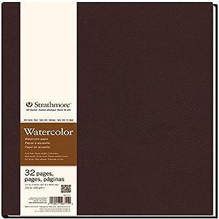 "Strathmore 400 Series Hardbound Watercolor Art Journal, 11""x14"" 16 Sheets - STR-467-11"