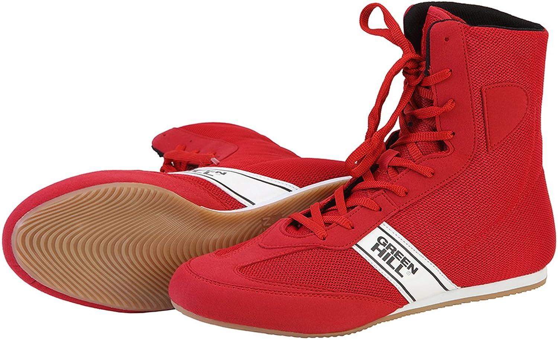 Grün Hill Boxing schuhe Long ( rot , 38 )  | Jeder beschriebene Artikel ist verfügbar