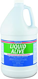 Dymon DYM 23301 Liquid Alive Enzyme Producing Bacteria, 1gal Bottle (Pack of 4)