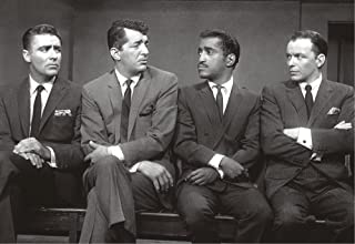The Rat Pack, Dean Martin, Sammy Davis Jr, Frank Sinatra, Peter Lawford, Souvenir Magnet 2 x 3 Photo Fridge Magnet