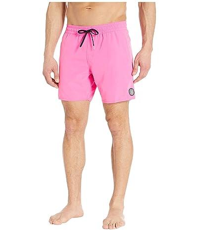 Volcom Lido Solid 16 Trunks (Desert Pink) Men