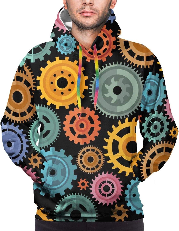 Hoodie For Teens Boys Girls Colorful Gear Double-Sided 3d Sweatshirt Hoodie