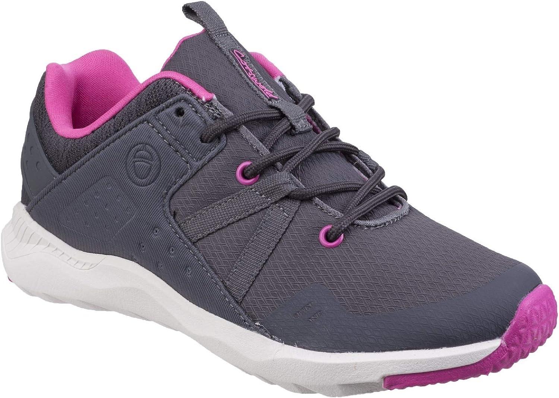 Cotswold Womens Luckington Casual shoes Grey Fuchsia White Size UK 5 EU 38