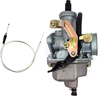 Carburetor & W/ Throttle Cable For Honda CM185 CM185T CM200 CM200T Twinstar 200