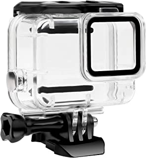 GoPro HERO 7 Silver/White対応 | シングルロック | 45m水深ダイビング| 防水防塵保護ハウジング| Go Pro Hero7 アクションカメラ対応 水中撮影用