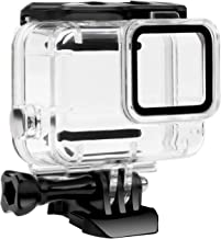 FitStill Waterproof Housing Case for GoPro Hero 7 White & Silver, Protective 45m Underwater Dive Case Shell with Bracket Accessories for Go Pro Hero7 Action Camera