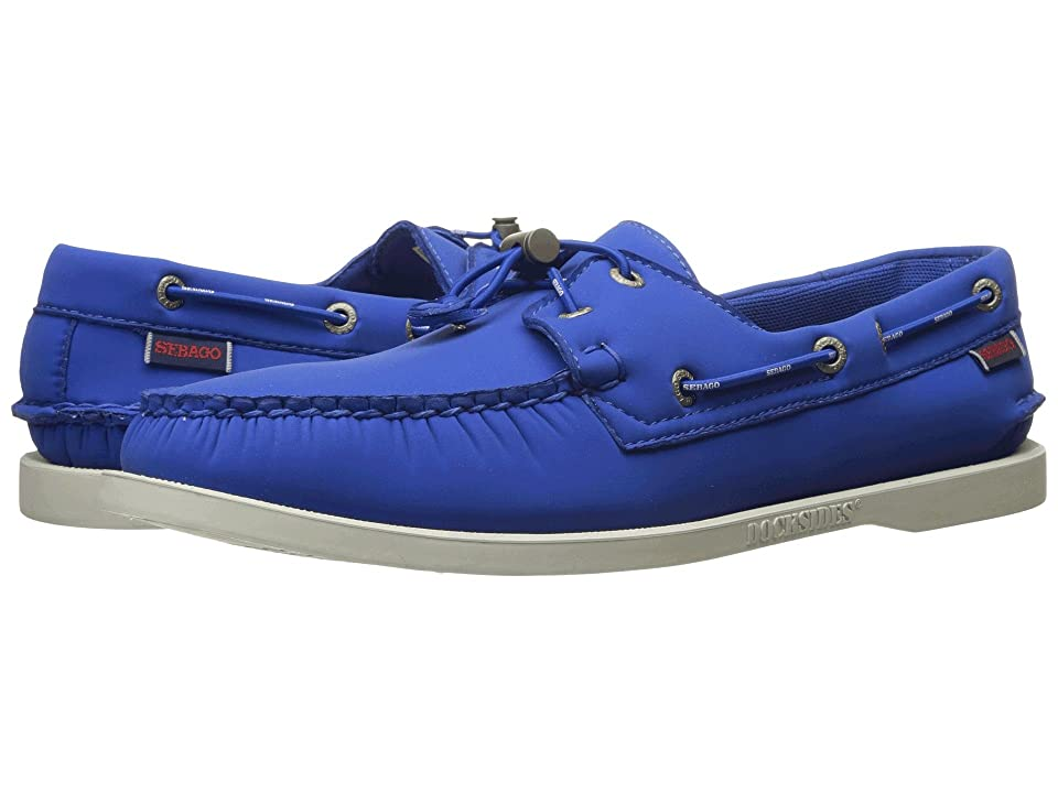 Sebago Dockside Ariaprene (Blue Ariaprene) Men's Shoes