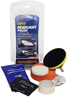 MANNOL 9801 Car Headlight Polish Restoration Kit