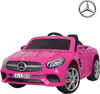 Uenjoy 12V Licensed Mercedes-Benz SL500 Kids Ride On Car Electric Cars Motorized Vehicles..