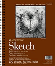 Strathmore 22.9cm x 30.5cm Spiral Sketch Book, 100 Sheets