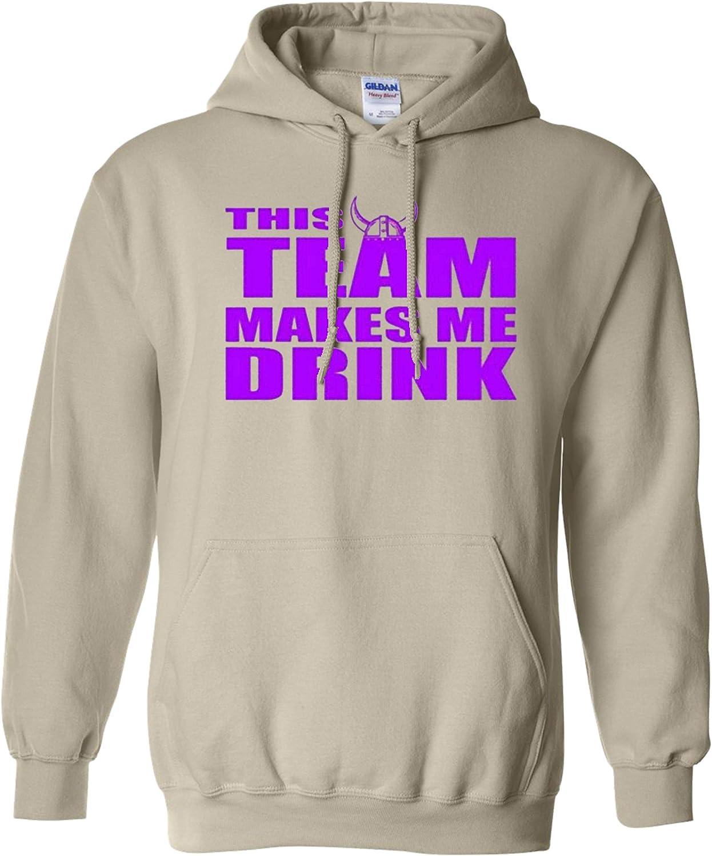 City 予約 Shirts This Team 期間限定今なら送料無料 Makes Sweatshirt Drink Minnesota Hoodie Me