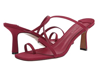 Tony Bianco Blossom (Burgundy Grosgrain) Women