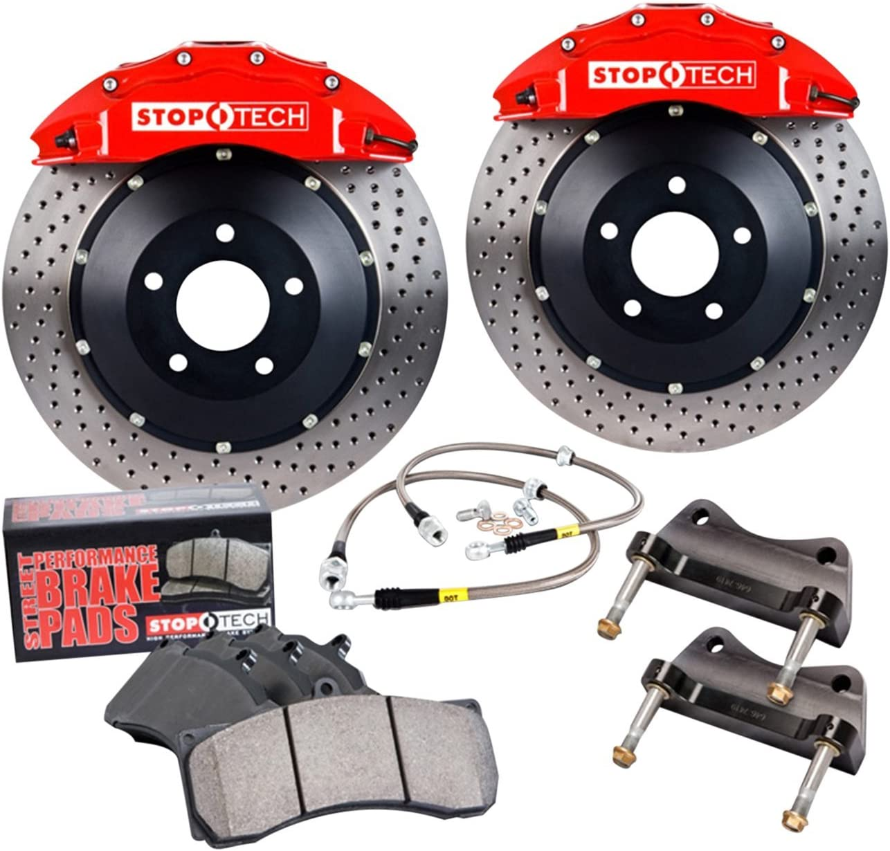 StopTech It is very popular 83.892.4300.R2 Big Brake Pack In stock Kit 1