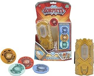 comprar comparacion Gormiti - Brazalete Role Play Con 4 Medallones Luz y Sonidos, Multicolor (Giochi Preziosi GRM06000)