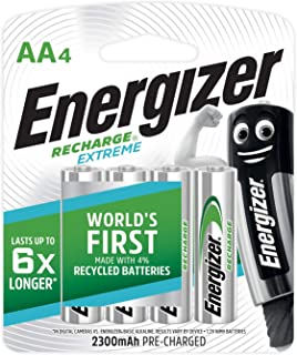 Energizer NiMH 2300mAh Recharge Extreme AA 2300mAh - 4 Pieces