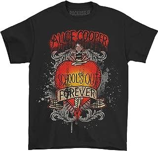 Alice Cooper Men's School's Out Dagger T-Shirt Black