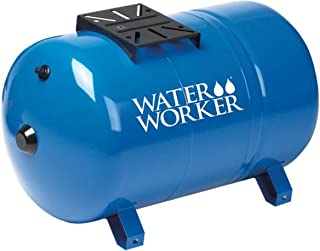 WaterWorker HT20HB Water Worker Ht-20Hb Horizontal Pre-Charged Well Tank, 20 Gal, 1 In..