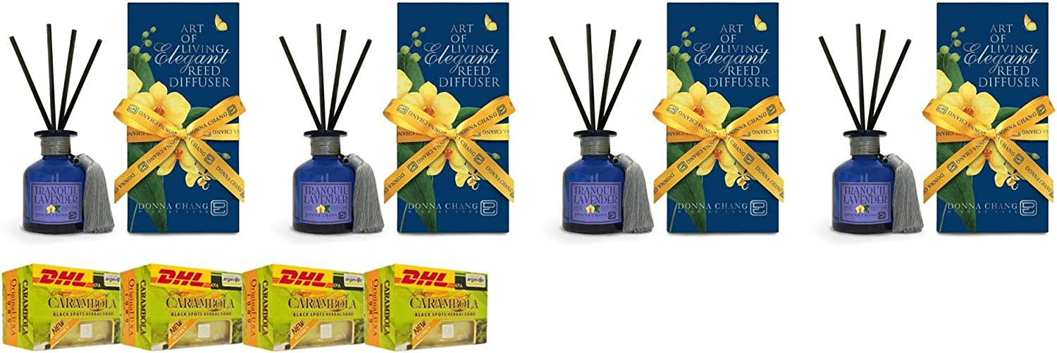 Donna Chang by DHL Extra Set Lavender Reed Diffuser 100Ml Perfec