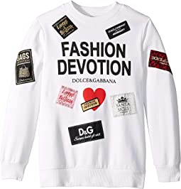 Fashion Devotion Sweatshirt (Big Kids)
