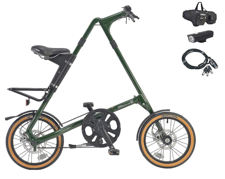 STRiDA EVO16(ストライダ エヴォ16) 16インチ折り畳み自転車 +フロントライト、ロングワイヤー錠