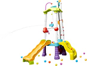 little tikes fun zone tumblin' tower climber indoor/outdoor