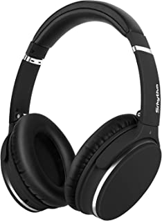 Lightweight Active Noise Cancelling Bluetooth Headphones, Srhythm Foldable Wireless Over Ear Headset with Deep Bass (Low L...