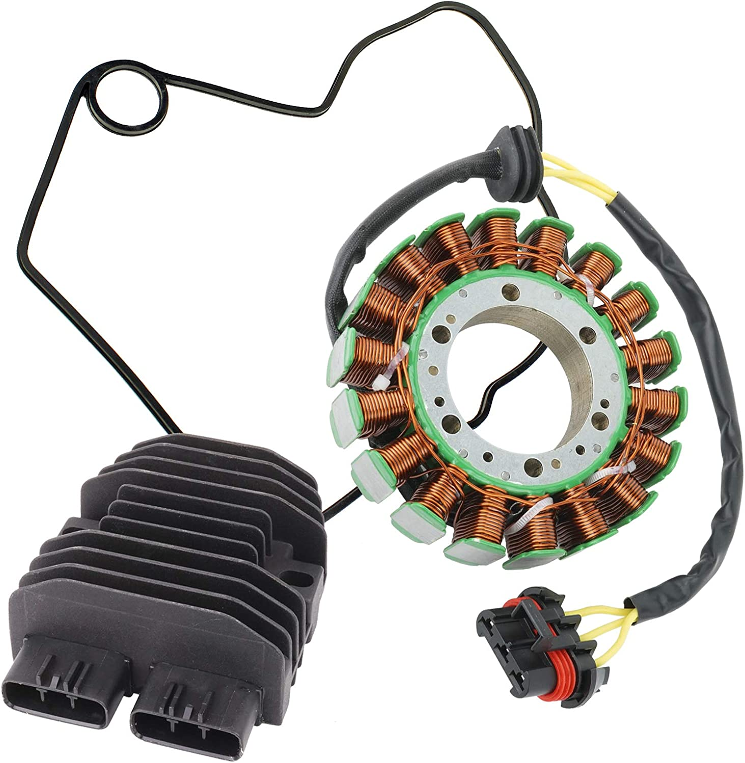 Caltric compatible with Indefinitely Stator Regulator Po and Gasket Max 47% OFF Rectifier