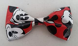 Mickey Mouse Bobby Pin Hair Bow or Bow Tie