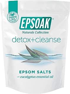 Epsoak Everyday Epsom Salts - 2 lbs. Detox + Cleanse Bath Salts