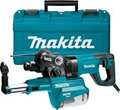 """Makita HR2661 1"""" AVT Rotary Hammer, Accepts Sds-Plus Bits, w/Hepa Dust Extractor (D-Handle)"""