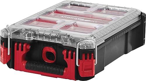 Milwaukee 0 PACKOUT Organiser Compact avec boîte de rangement