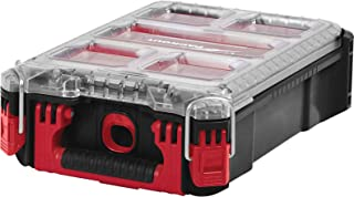 Milwaukee 0 932464083 PACKOUT Compact Organiser Case, Red