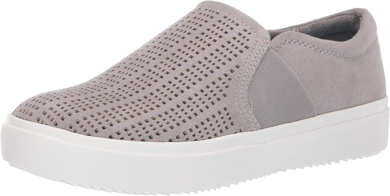 Dr. Scholl's shoes Women's Wander Up Sneaker, Grey Cloud Chopout Microfiber, 6.5 M US