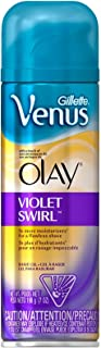 Gillette Venus with a touch of Olay Shave Gel, Violet Swirl - 7 oz