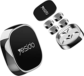 2 Pack Magnetic Car Phone Holder | Stick On Dashboard Magnetic Car Mount | Mini Magnetic Car Phone Mount | Phone Dashboard...