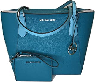 dd7ecbed40ad MICHAEL Michael Kors Kimberly SM Bonded Tote bundled with Michael Kors Jet  Set Travel Coin Purse