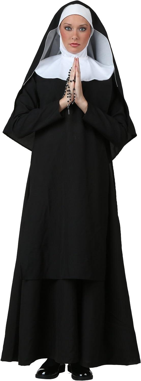 Plus Größe Deluxe Nonne Kostüm - 3X