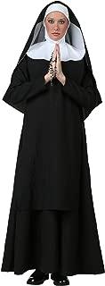Women's Deluxe Nun Costume Black Nun Costume Women
